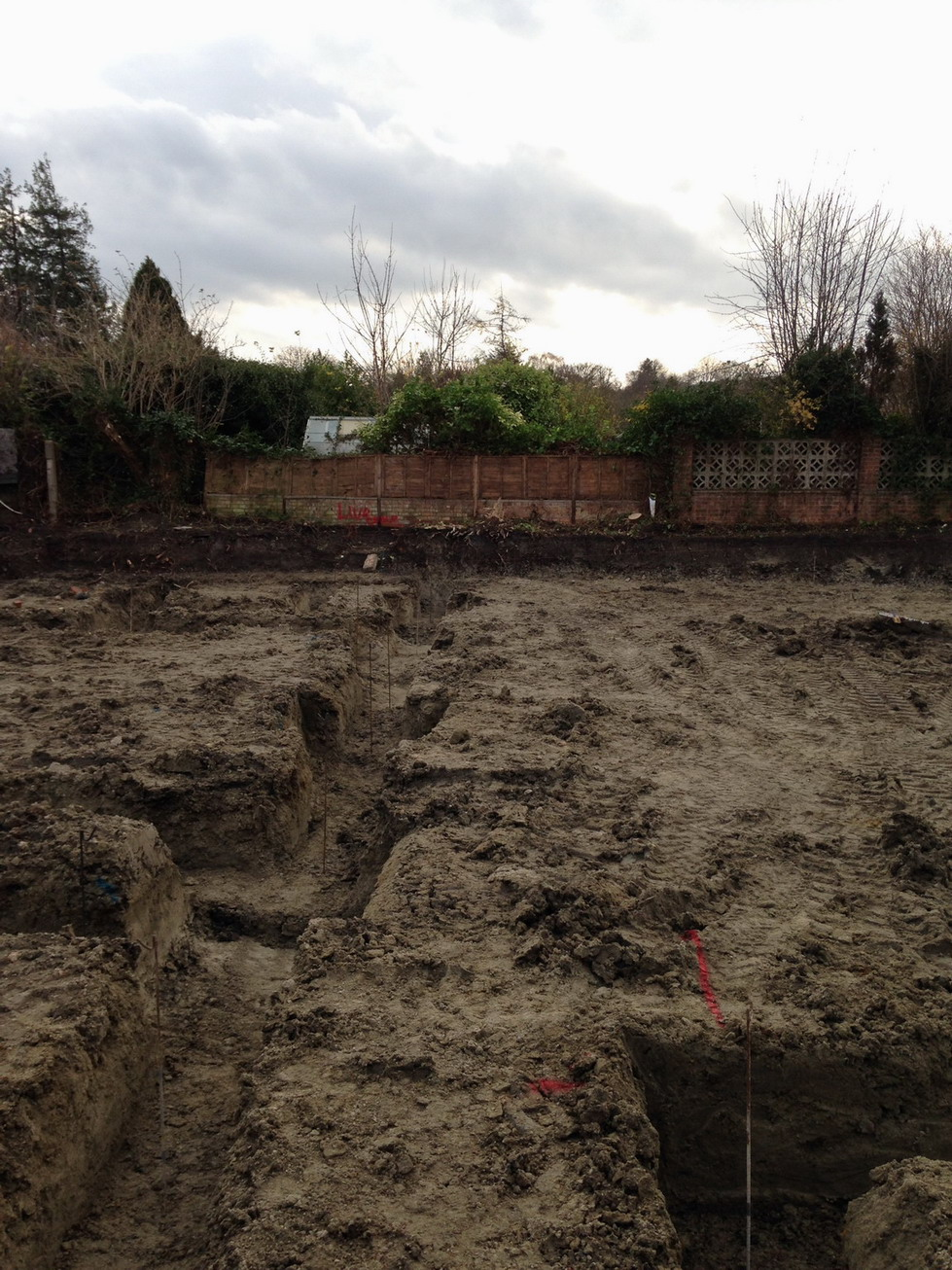 2 Dec 2015 Muddy trenches