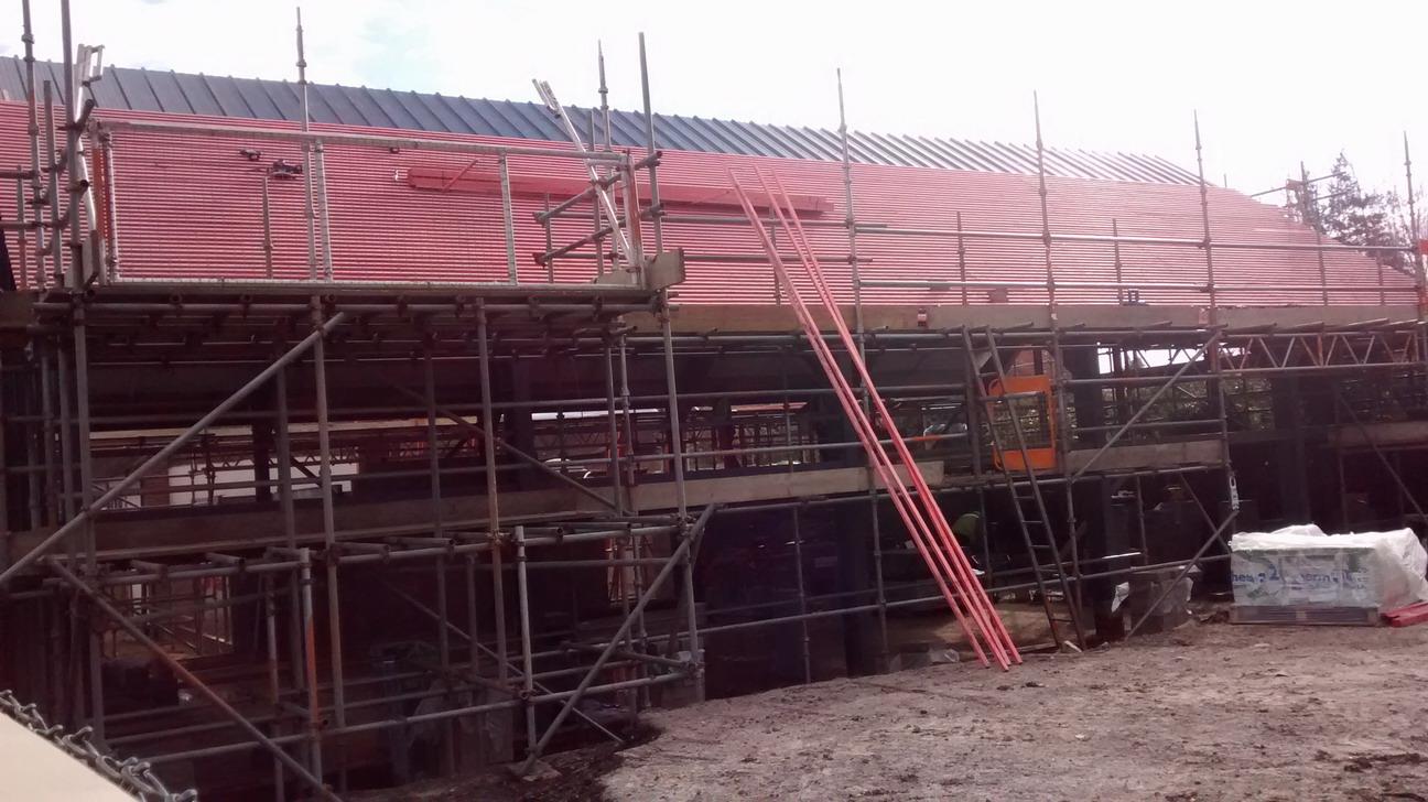 23 Feb 2016 batoning the roof