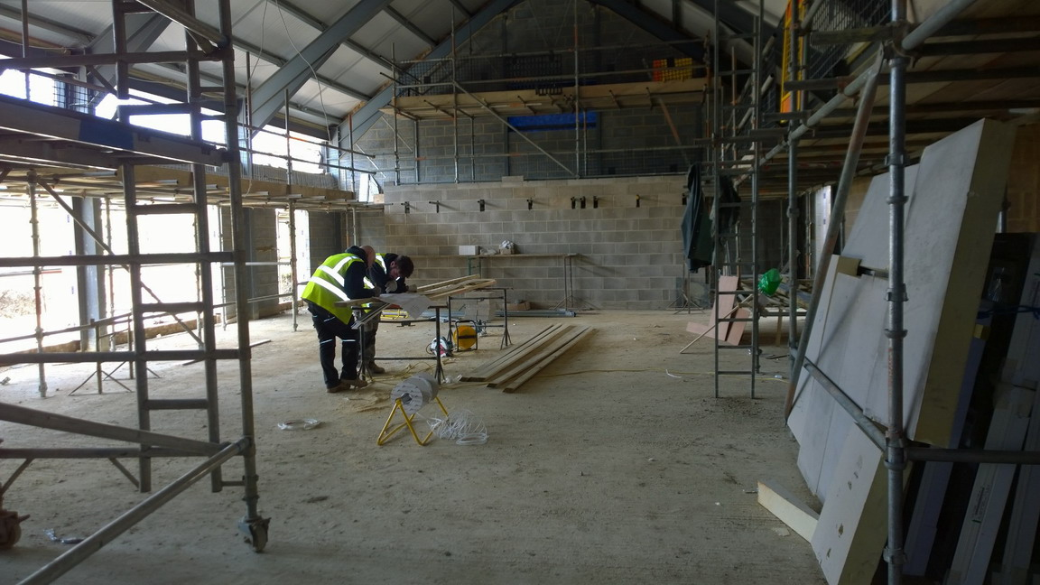 20 April 2016 New Hall 3