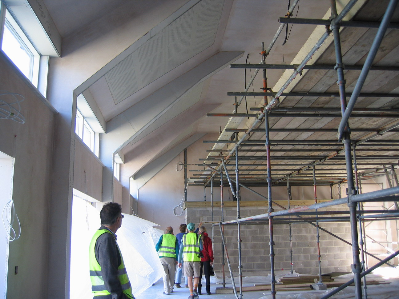inside the new hall 2 july